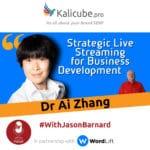 Dr Ai Zhang with Jason Barnard Wordlift