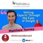 Matthew Tenney with Jason Barnard