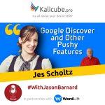 Jes Scholtz with Jason Barnard