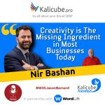 Nir Bashan with Jason Barnard - Creativity is The Missing Ingredient in Most Businesses Today