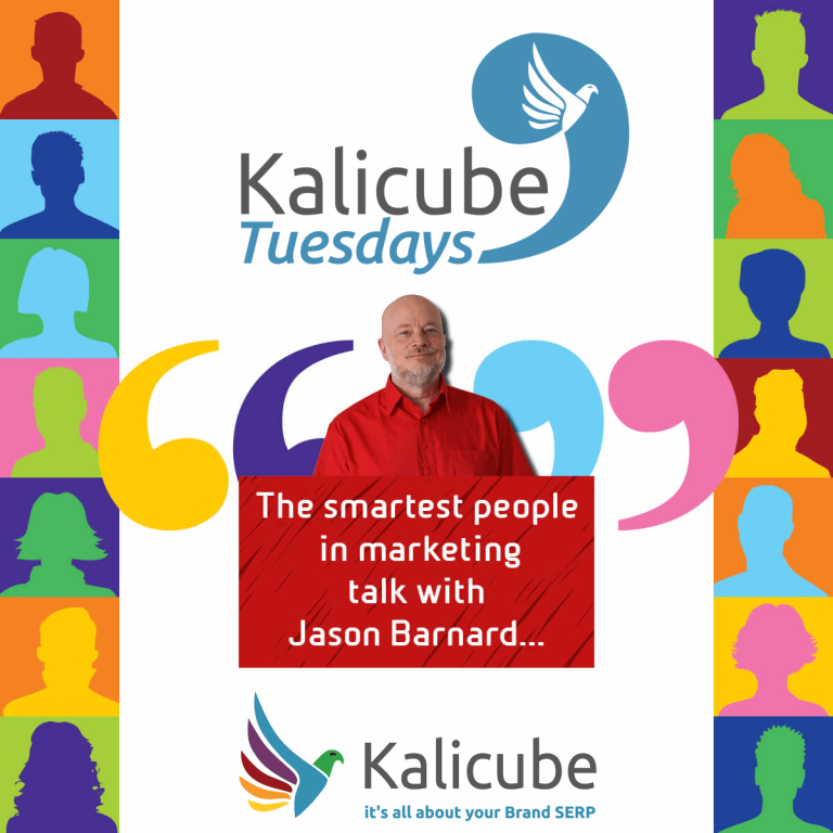 Kalicube Tuesdays Official Poster