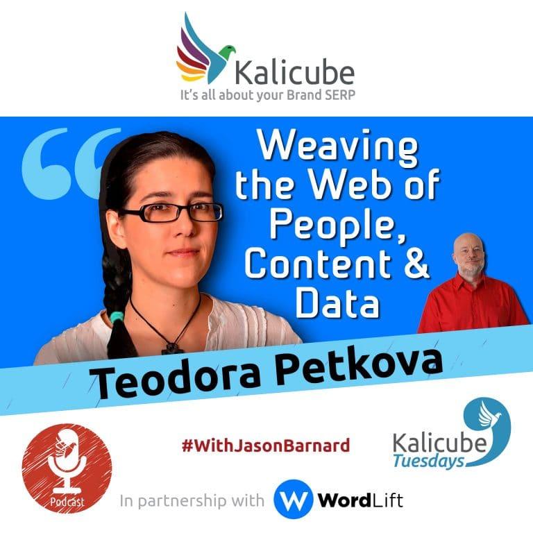 Teodora Petkova and Jason Barnard